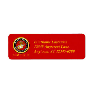 US Marine Official Seal - Semper Fi