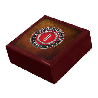 US Marines: Chief Warrant Five (USMC CWO-5) [3D] Jewelry Box