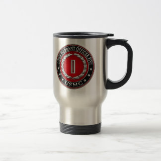 US Marines: Chief Warrant Five (USMC CWO-5) [3D] Travel Mug