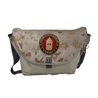 US Marines: Master Gunnery Sergeant (USMC MGySgt) Courier Bag
