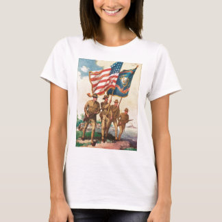 US Marines WW 1 Vintage Poster T-Shirt