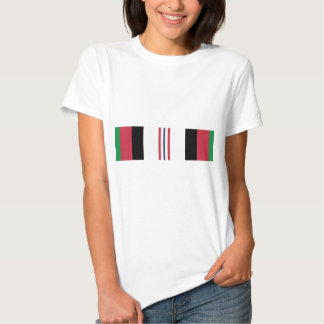 US Military Afghanistan Campaign Ribbon T Shirt