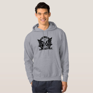 US MILITARY_black design Hoodie