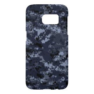 US Military Blue Camo Samsung Galaxy s7 Case