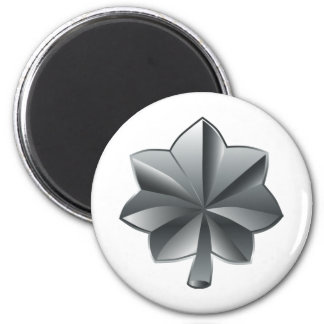 US Military Rank - Lieutenant Colonel 2 Inch Round Magnet
