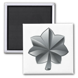 US Military Rank - Lieutenant Colonel Square Magnet