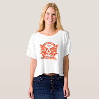 US MILITARY_red pencil design T-shirt
