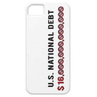 US National Debt $ 16 Trillion Dollars Anti-Obama iPhone 5 Cases