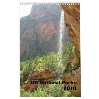 US National Parks 2010 Calendar