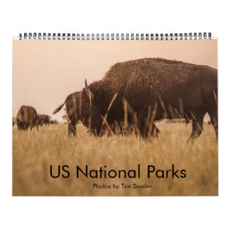 US National Parks Wall Calendars