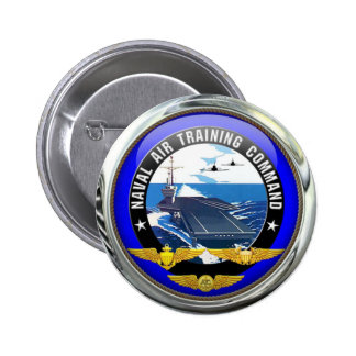 US Naval Air Training Command 2 Inch Round Button