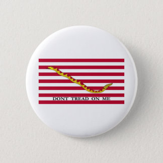 US Naval Jack 2 Inch Round Button