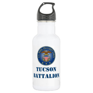 US NAVAL SEA CADETS Tucson Battalion waterbottle 532 Ml Water Bottle