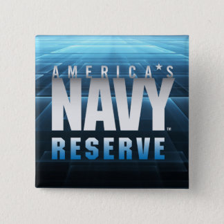 US Navy   America's Navy Reserve 2 Inch Square Button