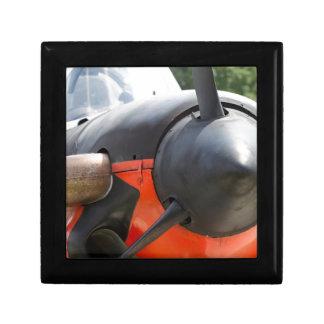 US Navy World War II T-34 Mentor Trainer Aircraft Trinket Box