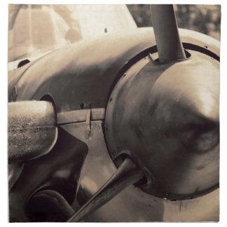 US Navy World War II T-34 Mentor trainer Napkin