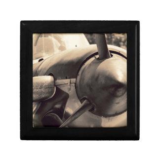 US Navy World War II T-34 Mentor trainer Trinket Box