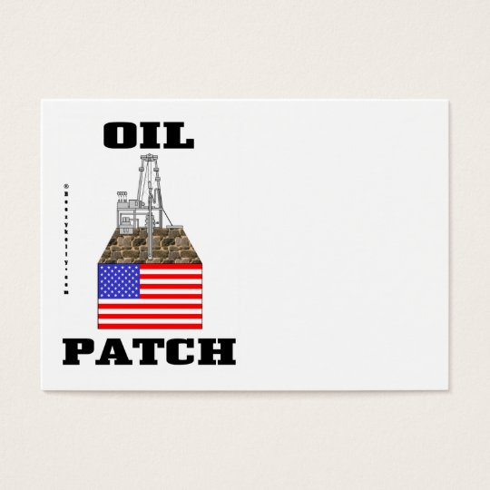 US Oil Patch,Business Cards,Oil,Rig,Oilman Business Card