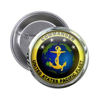 US Pacific Fleet Commander 2 Inch Round Button