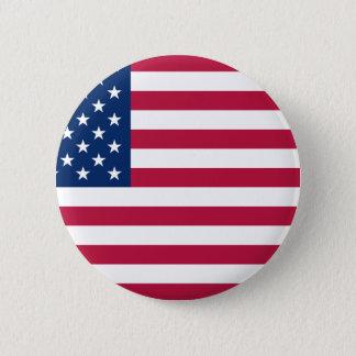 US Patriotism 2 Inch Round Button