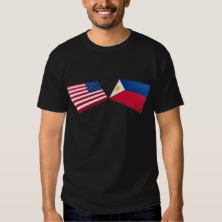 US & Philippines Flags Shirts