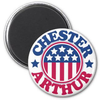 US President Chester Arthur Magnet