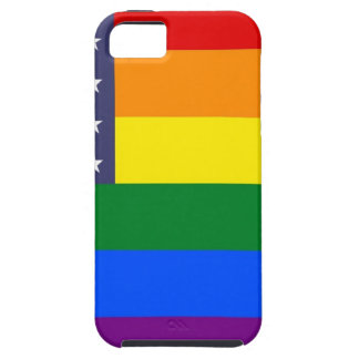US Rainbow Pride Flag iPhone 5 Covers