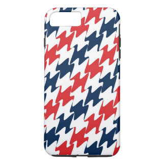 US Red White and Blue Sports Colors iPhone 7 Plus Case