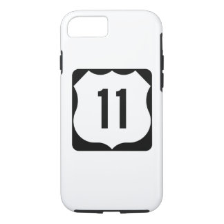 US Route 11 Sign iPhone 8/7 Case