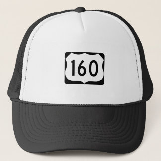 US Route 160 Sign Trucker Hat
