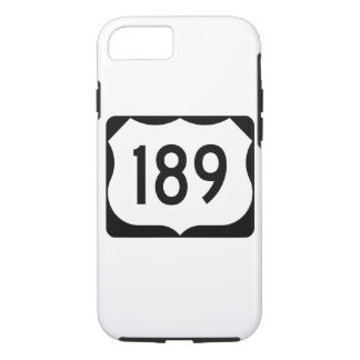 US Route 189 Sign iPhone 7 Case