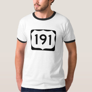 US Route 191 Sign T-Shirt
