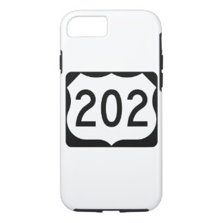 US Route 202 Sign iPhone 7 Case