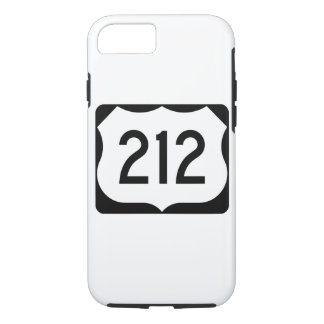 US Route 212 Sign iPhone 7 Case