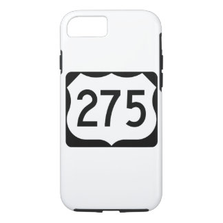 US Route 275 Sign iPhone 7 Case