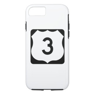 US Route 3 Sign iPhone 8/7 Case