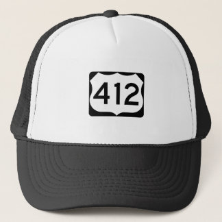 US Route 412 Sign Trucker Hat