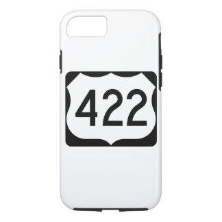 US Route 422 Sign iPhone 7 Case