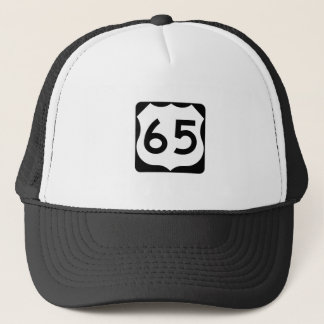 US Route 65 Sign Trucker Hat