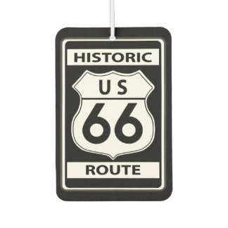 US Route 66 Historic Air Freshener