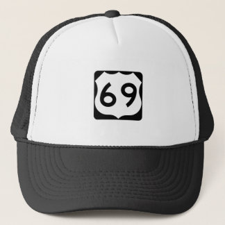 US Route 69 Sign Trucker Hat