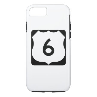 US Route 6 Sign iPhone 8/7 Case