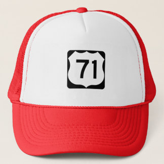 US Route 71 Sign Trucker Hat