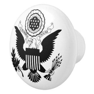 US Seal Ceramic Knob