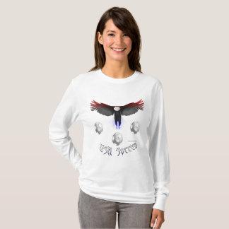US Soccer Eagle Ladies Long Sleeve Shirt
