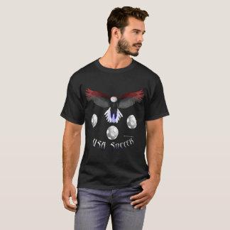 US Soccer Eagle Men's Dark T-Shirt