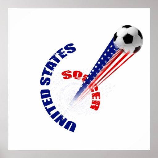 US Soccer Tornado Posters