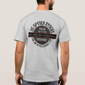 US Spyder Ryders - Motor Highway T-Shirt