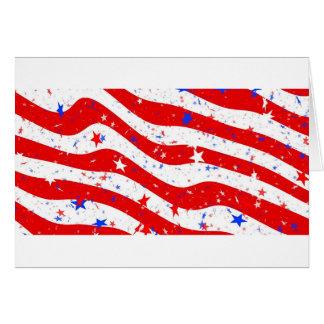 Us Stars And Stripes America Flag American Flag Card