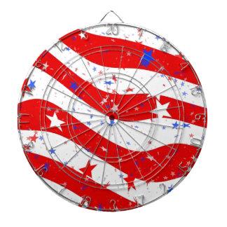 Us Stars And Stripes America Flag American Flag Dartboard